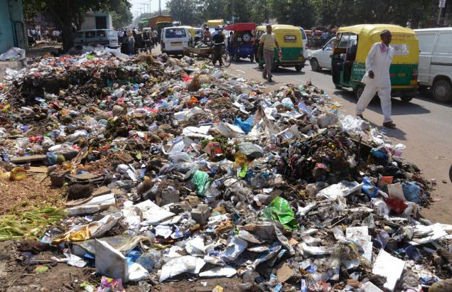 delhi spazzatura